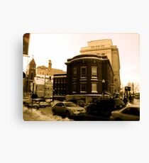 """The Masonic Temple (known locally as the """"Mason Building"""") Canvas Print"""