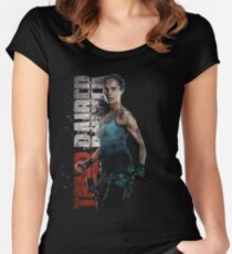 Tomb Raider 2018 Women's Fitted Scoop T-Shirt