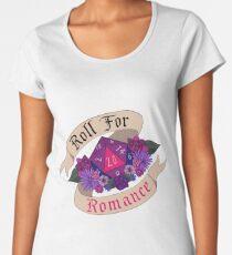 Roll For Romance - Bi Pride Women's Premium T-Shirt