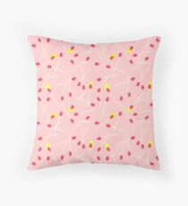 A Perfect Match - Red Throw Pillow