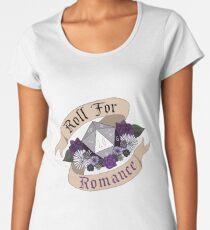 Roll For Romance - Ace Pride Women's Premium T-Shirt