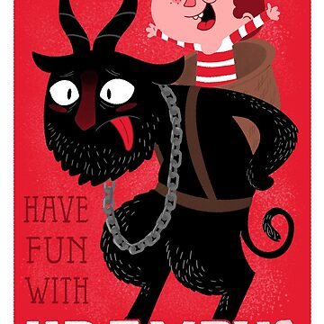 Have fun with Krampus by Queenmob