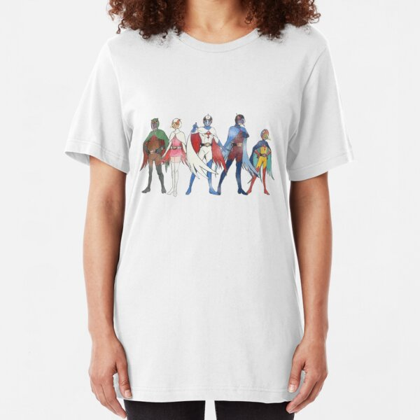 Battle of the Planets part II Slim Fit T-Shirt