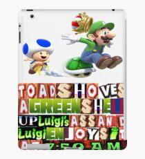 Toad & Linguini iPad Case/Skin