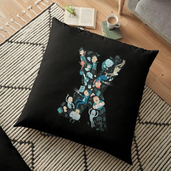 Conspiratorial Reunion Floor Pillow