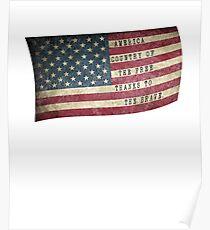 American Flag  Poster