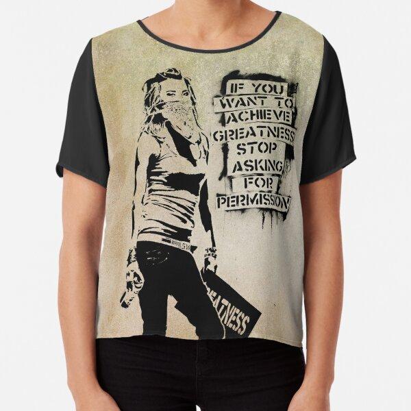 Pulp Fiction Inspiriert T-Shirt Banksy Parodie Top Lustig 4 Farben Herren Damen