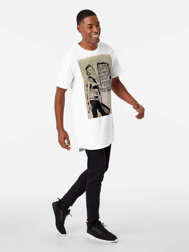 Alternate view of Banksy, greatness Long T-Shirt