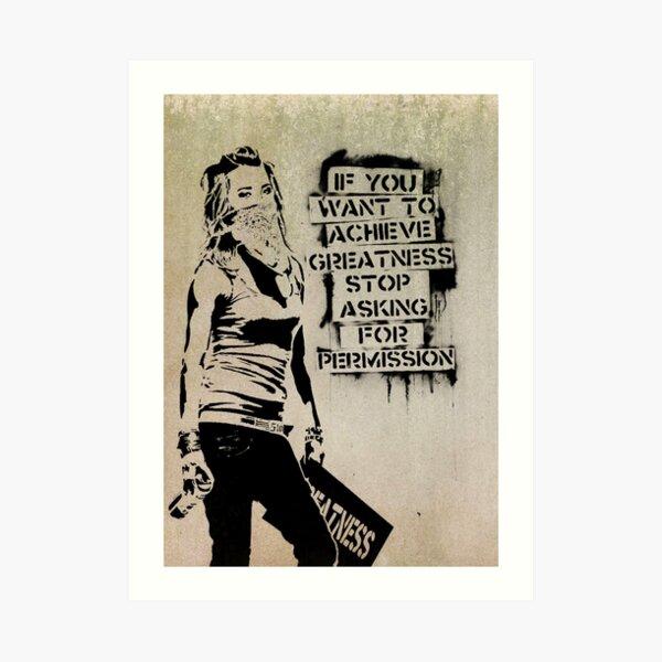 Banksy, grandeza Lámina artística
