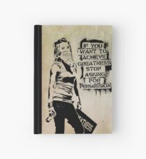 Banksy, greatness Hardcover Journal