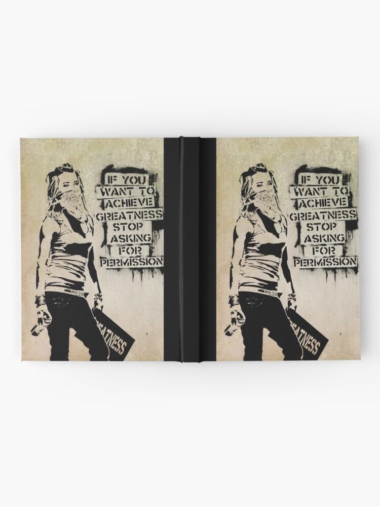 Alternate view of Banksy, greatness Hardcover Journal