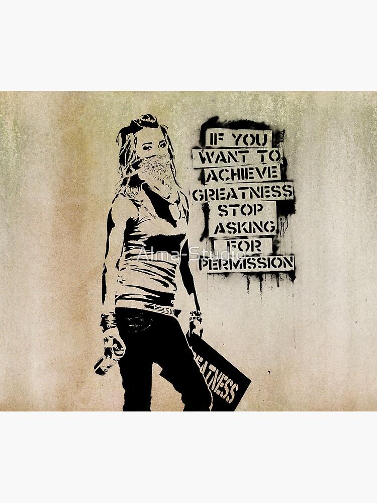 Banksy, greatness by Alma-Studio