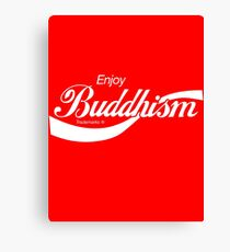 Enjoy Buddhism Canvas Print