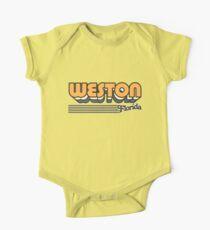Weston, Florida | Retro Stripes One Piece - Short Sleeve
