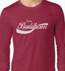 Enjoy Buddhism Long Sleeve T-Shirt