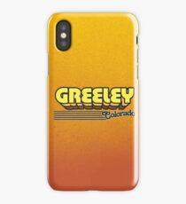 Greeley, Colorado | Retro Stripes iPhone Case/Skin