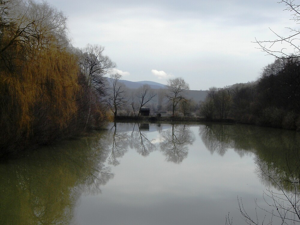 Small lake by Mykola