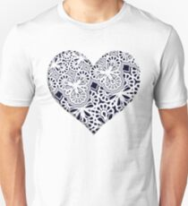 Colorful  Heart Unisex T-Shirt