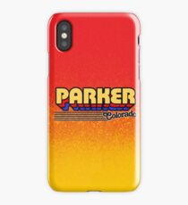 Parker, Colorado | Retro Stripes iPhone Case/Skin