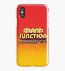 Grand Junction, Colorado | Retro Stripes iPhone Case/Skin