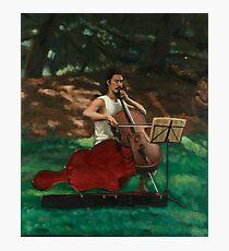 Cellist Photographic Print