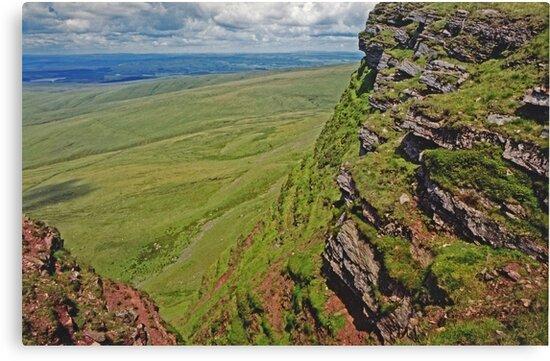 Summit - Black Mountain - Wales  by Carl Gaynor