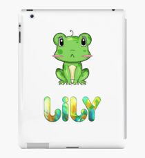 Lily Frog iPad Case/Skin