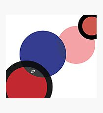 KIROVAIR POP ART CIRCLES #minimal #art #design #kirovair #buyart #decor #home Photographic Print