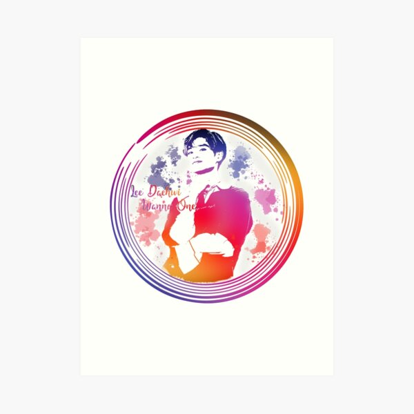 Daehwi Wanna One Art Print