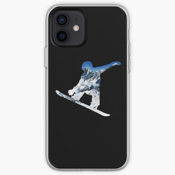 Snowboard  iPhone Soft Case