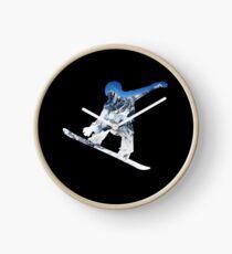 Snowboard  Clock