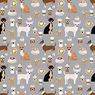 Chihuahua dog breed coffee pupuccino dog art chiwawas chihuahuas gifts by PetFriendly