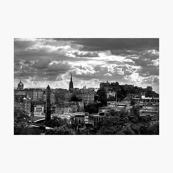 Edinburgh  City Photographic Print