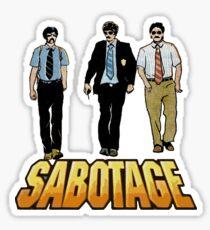 Pegatina Sabotaje
