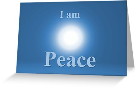 Peace affirmation by Katherine T Owen, Author