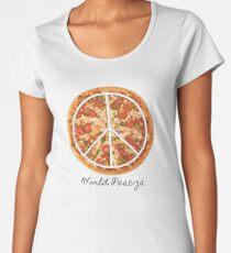 World Peac-za  Women's Premium T-Shirt