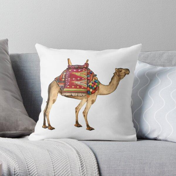 Saharan Taxi Throw Pillow