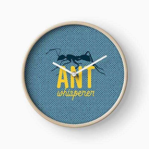 Ant Whisperer Clock