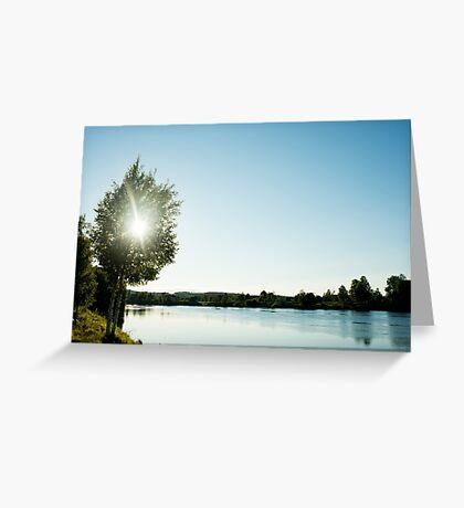Vännänget, Vindelälven Greeting Card