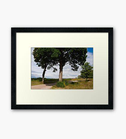 Fiskeboda Framed Print