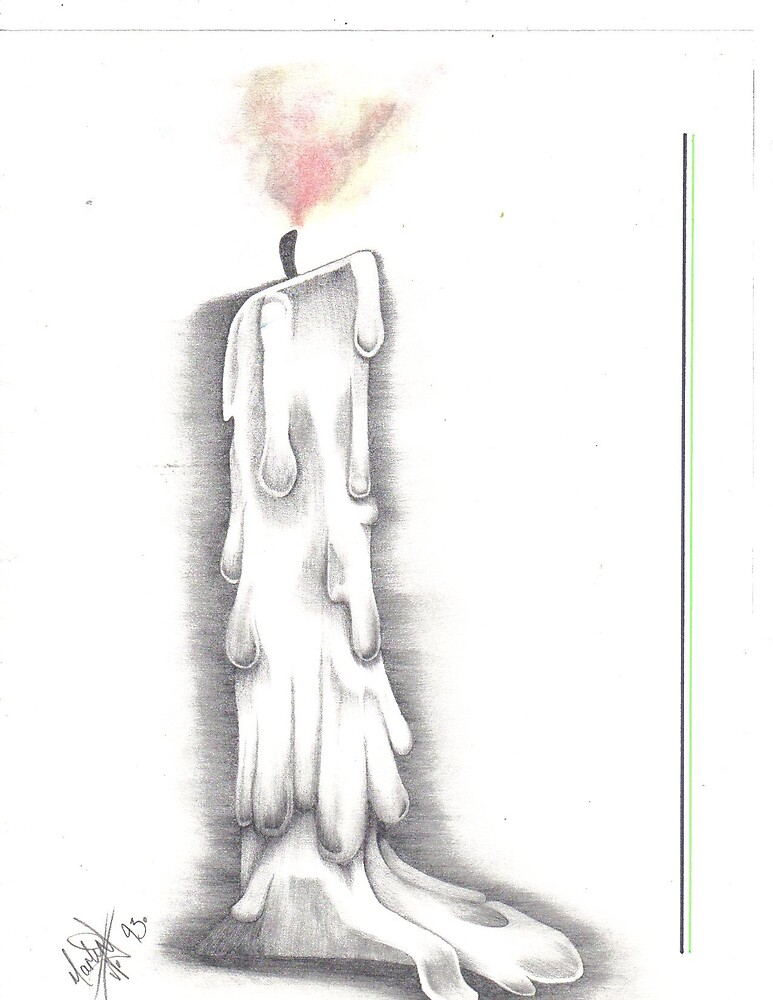 extinguished light by MLWillustration .com