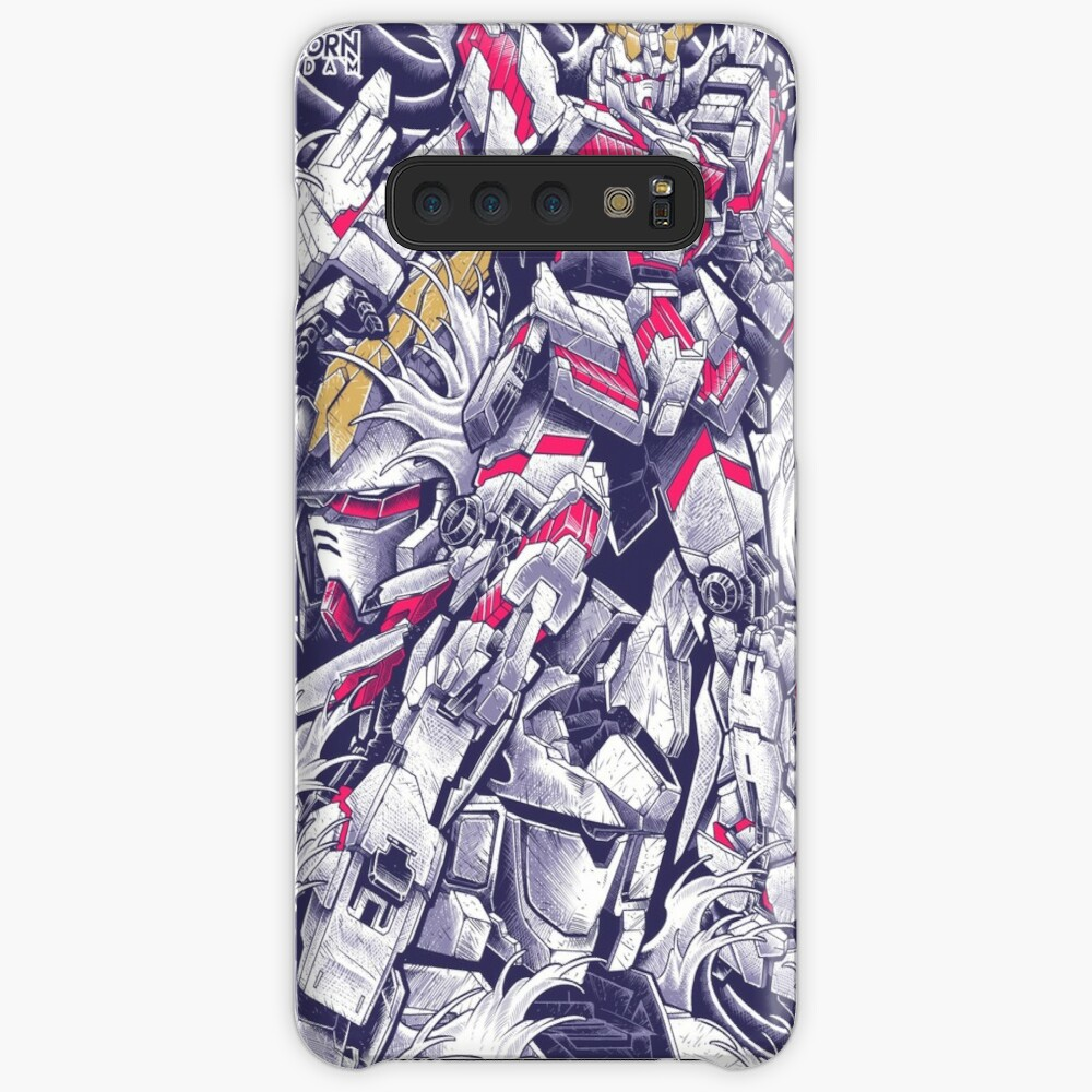 Unicorn Gundam Case & Skin for Samsung Galaxy