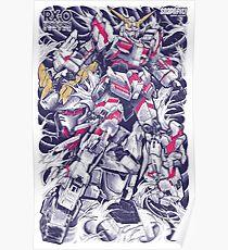 Póster Unicorn Gundam