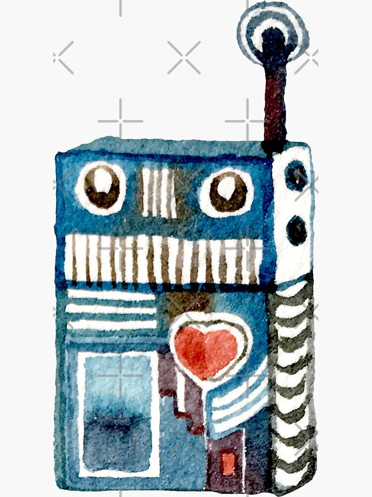 Little Radio Robot by whya