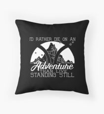 Adventure Quote - ADSOM - A Darker Shade of Magic Throw Pillow