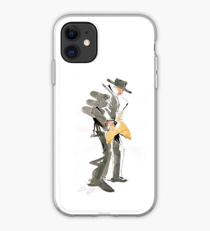 Musician Jazz Saxophone iPhone Case