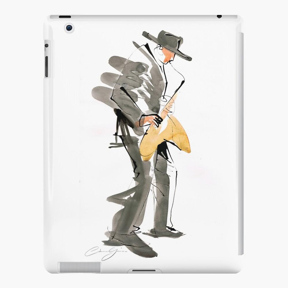 Musician Jazz Saxophone iPad Case & Skin