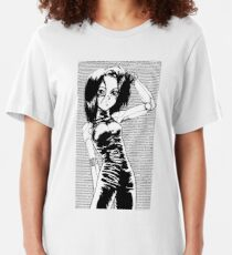 battle angel alita Slim Fit T-Shirt