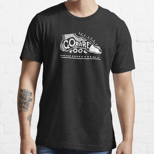 Go Barefoot White Essential T-Shirt