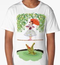 Cute halloween The crocodile girl Deadly circus Long T-Shirt